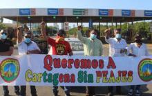 Rechazan cobro continuado en peajes internos de Cartagena