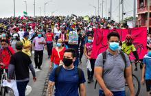 Jornada del Paro Nacional deja, hasta el momento, 203 capturados en el país