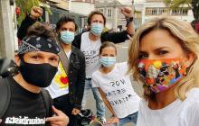 Artistas e influenciadores, otros actores de la protesta social