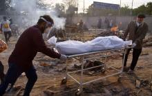 La pandemia no da tregua en la India