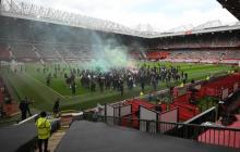 El United niega haber permitido el ingreso de aficionados a Old Trafford