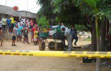 Asesinan a bala a un carromulero en Riohacha