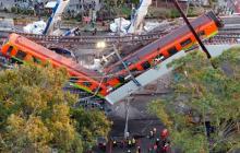Tres días de duelo en México por accidente del metro