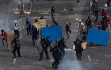 Organismos de DD. HH. condenan la violencia policial en Colombia