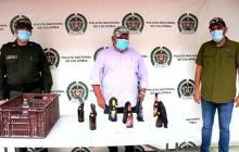 Incautan bombas molotov en Ciénaga, Magdalena