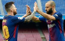 Mascherano desea que Messi continúe en el Barcelona