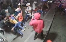 Vandalismo en Barranquilla: saqueos y enfrentamientos en las calles