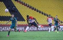 Edwuin Cetré Junior vs. Fluminense Copa Libertadores