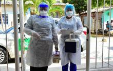 La incansable y desgastante labor de las mujeres que rastrean el virus
