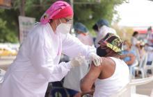 En Riohacha se han aplicado 18.541 vacunas contra la covid-19