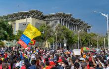 Barranquilla vivió tranquila su noveno día de manifestaciones