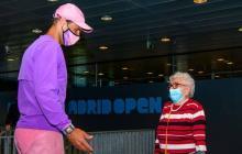 La señora de 95 años que conoció Nadal