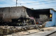 Incendio destruye vivienda y deja a una familia en la calle