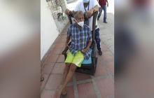 Solicitan silla de rueda para habitante de Soledad