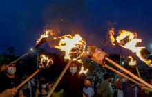 Así se vivió el día 13 de protestas en Barranquilla