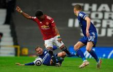 El Leicester pone fin a la resistencia del United y hace campeón al City