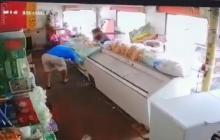 En video quedó registrado el asesinato de un tendero en el barrio Carrizal