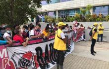 River Plate sale al Romelio Martínez vs. Junior por la Copa Libertadores