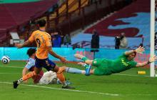 James Rodríguez Everton vs. Aston Villa