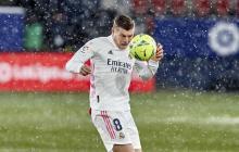 Kroos, otra baja del Real Madrid en la lucha por título de la Liga