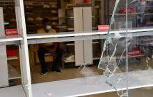 Policía entrega balance tras los disturbios en la calle 72