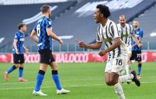 Cuadrado anota doblete y le da la victoria a Juventus ante Inter