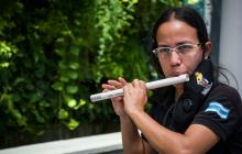 Música con instrumentos reciclables: la nota alta de la 'profe' Yolima