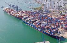 Paro afecta al 89 % de las empresas en Cartagena