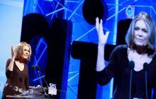 Gloria Steinem recibe el Premio Princesa en Comunicación