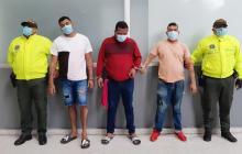 Capturan a tres presuntos 'Papalópez' en Soledad
