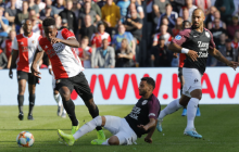 El colombiano Luis Sinisterra mete al Feyenoord en la 'Conference League'
