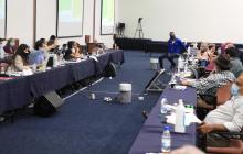 Miguel Ceballos, optimista ante las conversaciones con Comité del Paro