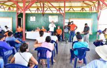 Presentan oferta de proyectos a pueblos de la Ciénaga Grande