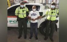 Lo capturan por el homicidio de un expatrullero de la Dijin