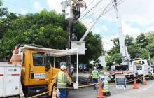 Adecuación de redes eléctricas en Barranquilla y Soledad