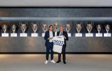 Modric renueva con el Real Madrid hasta 2022