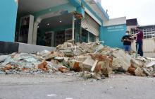 Carro se estrelló contra una veterinaria en el norte de Barranquilla