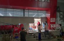 Reportan saqueos y desmanes en el sur de Barranquilla