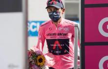 Egan Bernal es líder del Giro de Italia en la etapa 20