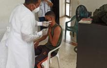 304 policías de Bolívar reciben la vacuna contra la covid-19