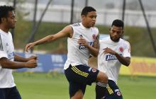 La Selección Colombia alista el juego ante Perú