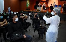 1.000 policías han sido vacunados contra la covid-19 en Cartagena y Bolívar