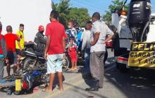 Accidente en Ciénaga deja una persona muerta