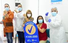 En el Atlántico se han aplicado 200 mil vacunas contra la covid