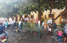 Protestan en Alcaldía de Sabanalarga por persecución sindical