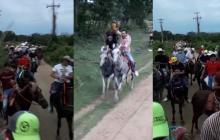 Polémica en Sincé por cabalgata en medio de la alerta roja hospitalaria