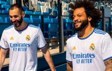 Real Madrid presenta la nueva camiseta para la temporada 21-22