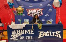 Deportista guajira firmó beca con universidad de Estados Unidos