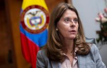 Marta Lucía Ramírez se reunió con el cuerpo diplomático acreditado del país