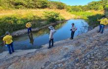 Líderes piden cumplir fallo sobre desviación del arroyo Bruno